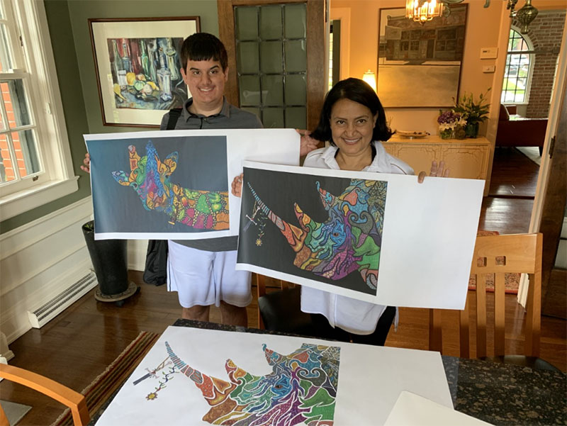 Sparkt Bridges: Young Man and His Art Have Deeper Message